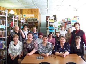 выездной библиотечный семинар Первоманск