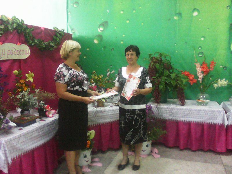 Азаренко Татьяна Витальевна, победительница в номинации «Лучшая цветочная композиция»
