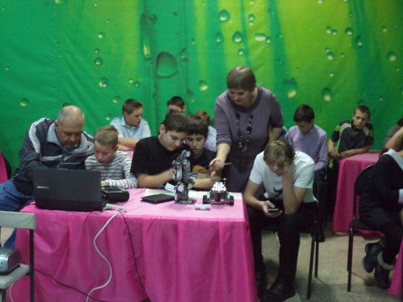 управление робототехникой, руководитель Голубцов В.А.